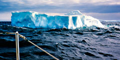 icrberg in Antarctic sea